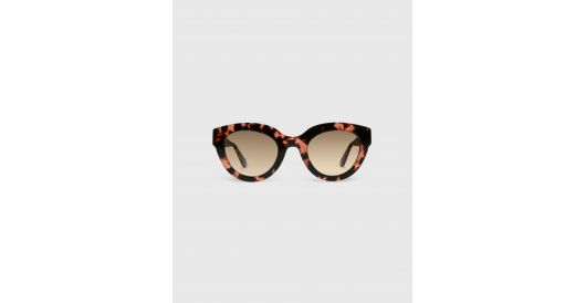 Cateye sunglasses in acetate