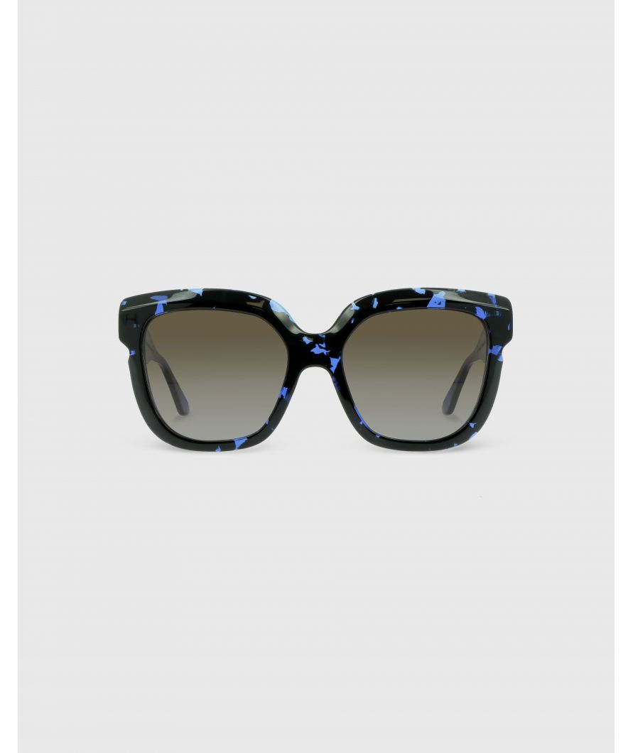 Square sunglasses in acetate