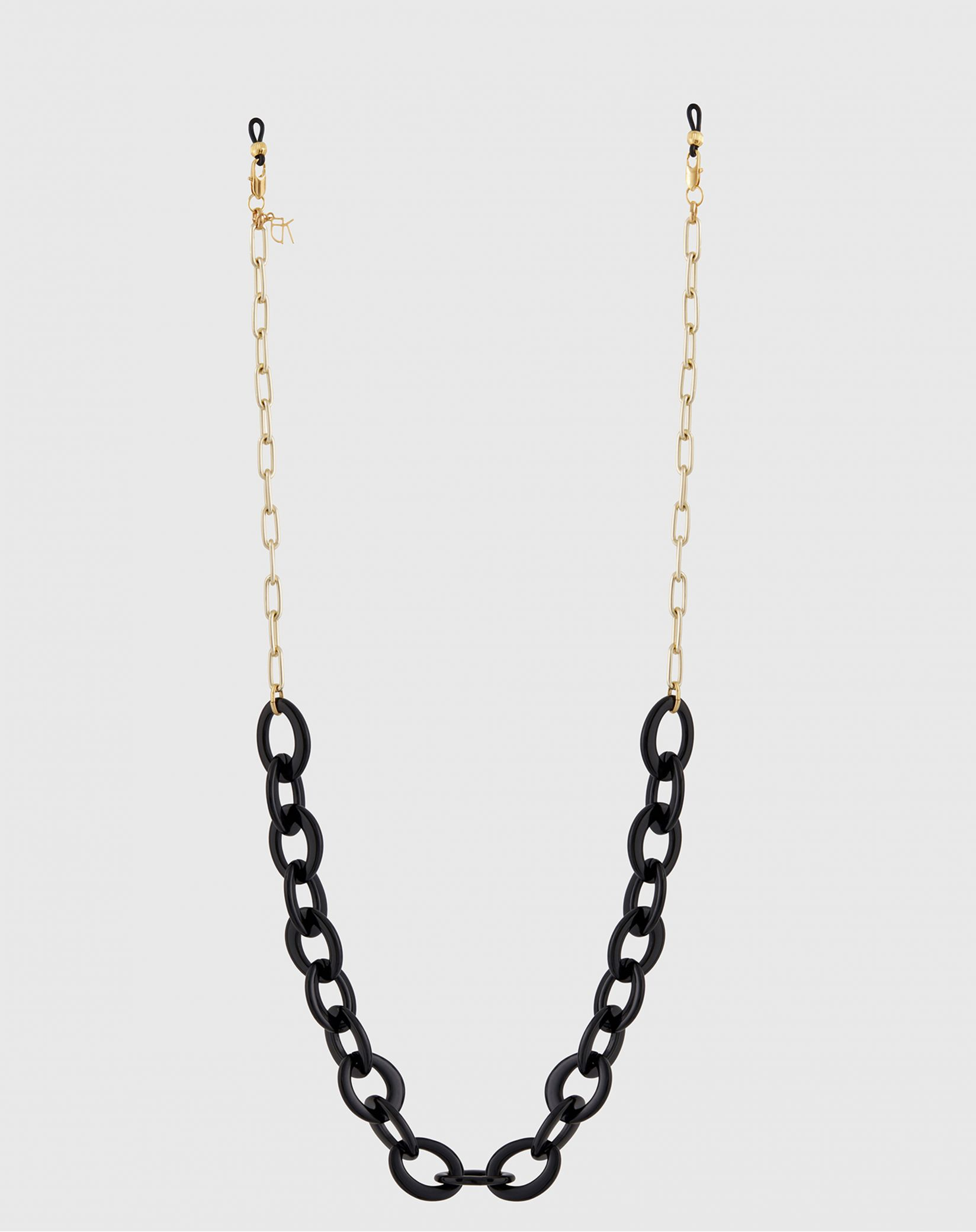 Eyewear chains in acrylic and metal